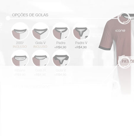 simulador de uniformes icone sports