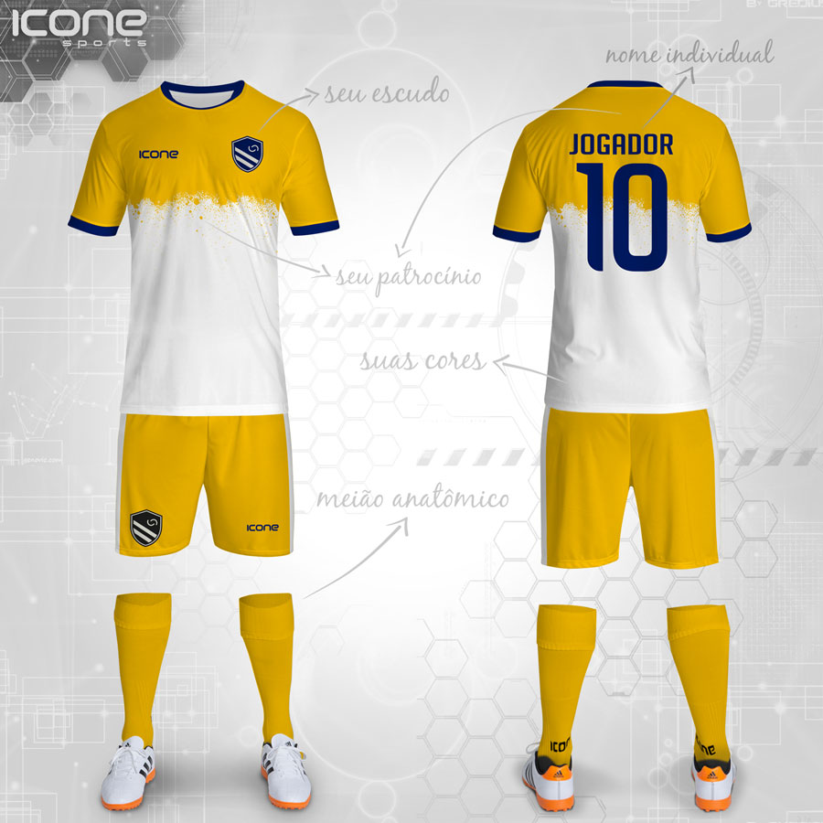 Uniformes Para Futebol Categorias Uniformes Icone Sports 74eec6f2fceb1