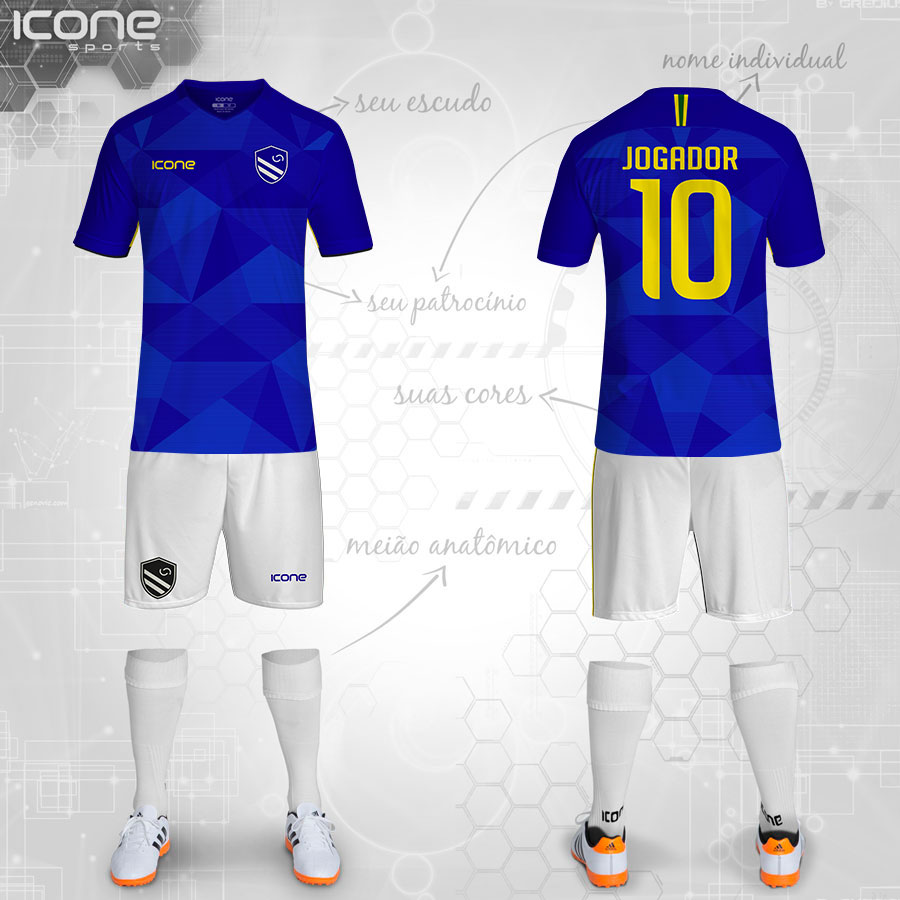 62e0338ef3100 Uniformes para Futebol » Categorias Uniformes » ICONE SPORTS ...