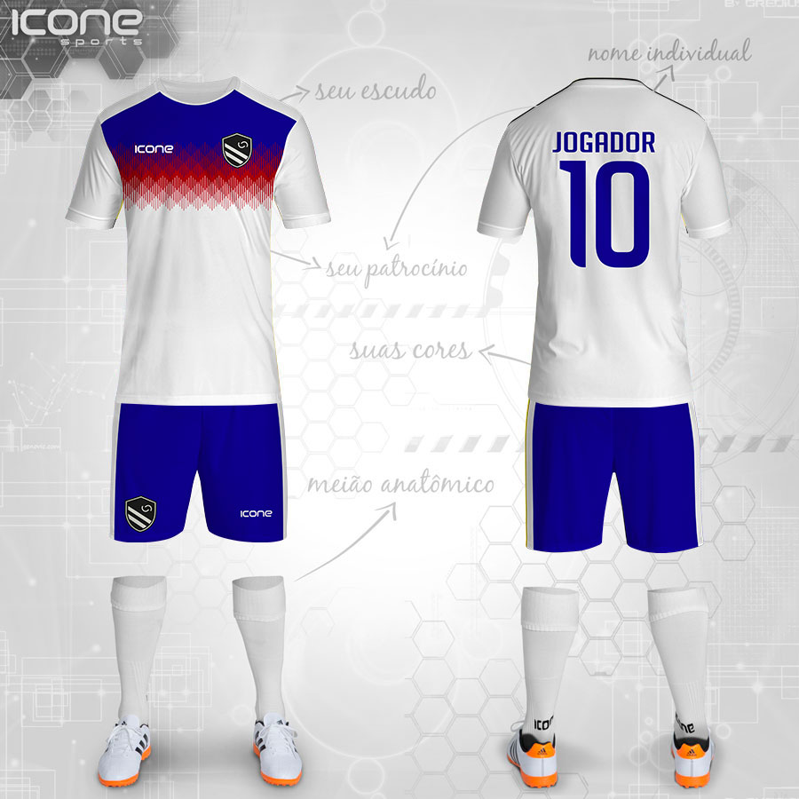 5632551ca0 Uniformes para Futebol » Categorias Uniformes » ICONE SPORTS ...