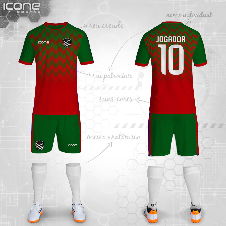 Uniformes para Futebol » Categorias Uniformes » ICONE SPORTS ... 0b7313202b87d