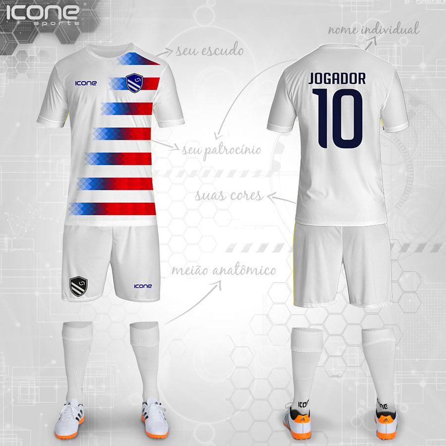 Uniformes Para Futebol » Categorias Uniformes » ICONE